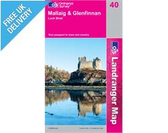 Landranger 40 Mallaig Glenfinnan Map Book