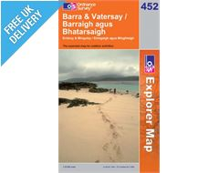 Explorer 452 Barra and Vetersay Map Book