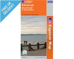 Explorer 350 Edinburgh Map Book