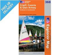 Explorer 368 Crieff Comrie Map Book