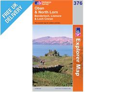 Explorer 376 Oban and North Map Book