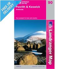 Landranger 90 Penrith and Keswick Map Book