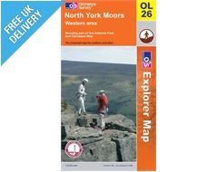 Explorer OL26 North Yorkshire Moors West Map Book