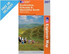 Explorer 367 Dunfermline Kirkald Map Book
