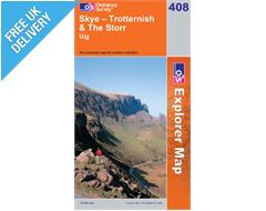 Explorer 408 Skye - Trotternish Map Book