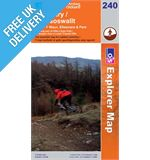 Explorer 240 Oswestry Chirk Elle Map Book