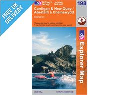 Explorer 198 Cardigan and Newquay Map Book