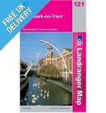Landranger 121 Lincoln and Newark on Trent Map Book