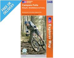 Explorer 348 Campsie Fells Map Book