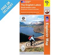 Explorer Active OL7 Lakes South East Waterproof Map Book