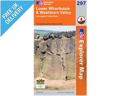 Explorer 297 Lower Wharfdale Map Book