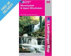 Landranger 98 Wensleydale Map Book