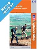 Explorer 335 Lanark and Tinto Hills Map Book