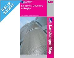 Landranger 140 Leicester and Coventry Map Book
