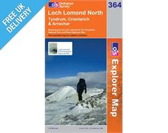 Explorer 364 Loch Lomond North Map Book