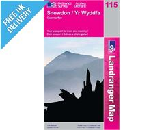 Landranger 115 Snowdon and Caernafron Map Book