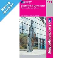Landranger 111 Sheffield and Doncaster Map Book