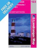 Landranger 123 Lleyn Peninsula Map Book