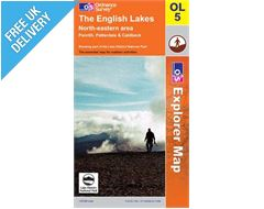 Explorer Active OL5 Lakes North East Waterproof Map Book