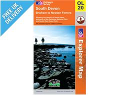 Explorer Active OL20 South Devon Waterproof Map Book