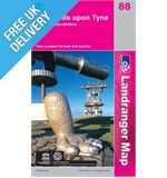 Landranger 88 Newcastle Upon Tyne Map Book