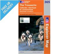 Explorer 365 The Trossachs Map Book