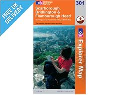 Explorer 301 Scarborough Bridling Map Book