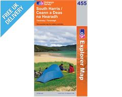 Explorer 455 South Harris Map Book