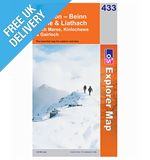 Explorer 433 Torrindon Beinn Eigh Map Book