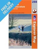 Explorer 288 Bradford and Huddersfield Map Book