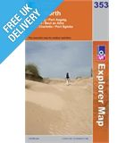 Explorer 353 Islay North Map Book