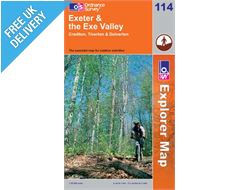 Explorer 114 Exeter and Exeter Valley Map Book