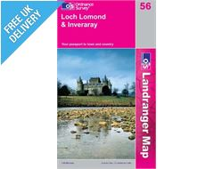 Landranger 56 Loch Lomond Map Book