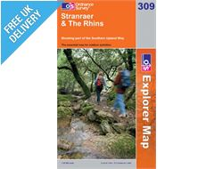 Explorer 309 Stranrear and the Rhins Map Book