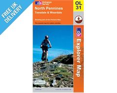 Explorer OL31 North Pennines Map Book