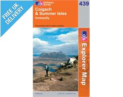 Explorere 439 Coigach and Summer Isle Map Book