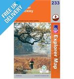 Explorer 233 Leicester and Hinckley Map Book