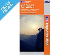 Explorer 392 Ben Nevis Map Book