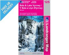 Landranger 125 Bala and Lake Vyrnwy Map Book