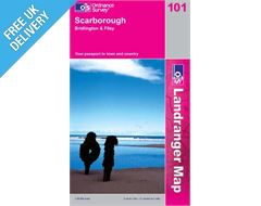 Landranger 101 Scarborough Map Book