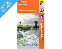 Explorer Active OL28 Dartmoor Waterproof Map Book