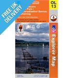 Explorer Active OL13 Beacons East Waterproof Map Book