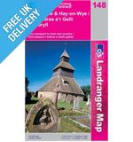 Landranger 148 Presteigne and Hay-On-Wye Map Book