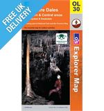 Explorer OL30 Yorkshire Dales North Map Book