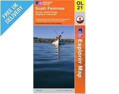 Explorer Active OL21 South Pennine Waterproof Map Book