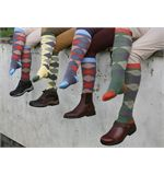 Tuffa Argyle Long Sock (Size 4-8)