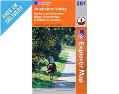 Explorer 281 Ancholme Valley Map Book