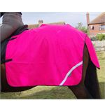 Mesh Quarter Sheet - Cob - Pink