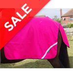 Mesh Quarter Sheet - Pony - Pink