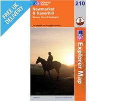 Explorer 210 Newmarket and Haverhill Map Book